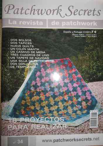 Patchwork secrets nº 34